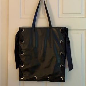 Topshop leather bag
